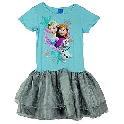 Frozen Disney Sisters Anna, Elsa and Olaf Youth Tutu Dress Costume