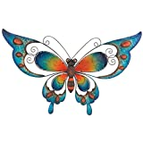 Regal Art & Gift Butterfly Wall Decor, 29-Inch, Blue