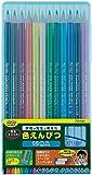 レイメイ藤井 色鉛筆 12色 先生おすすめ ブルー RE711