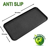 Multi-Purpose Anti-Slip Tray and Mat for Boots, Dog Food Bowls, Cat Litter, Painting, Shoes, Gardening, Laundry, Kitchen, Garage, Entryway. Protect Your Floor, Utility Tray. Indoor-Outdoor Protection