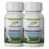 PetAlive GlucoBalance and Digestive Support ComboPack