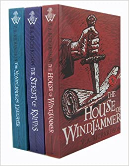 V  A  Richardson - The House V A Richardson The House Of Windjammer 3 Books Collection Set