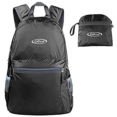 G4free 25L Ultra Lightweight Tear & Water Resistant Handy Foldable Backpack