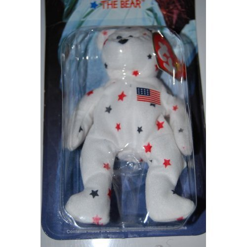 Ty Teenie Beanie - Glory the Bear (USA) International Collection