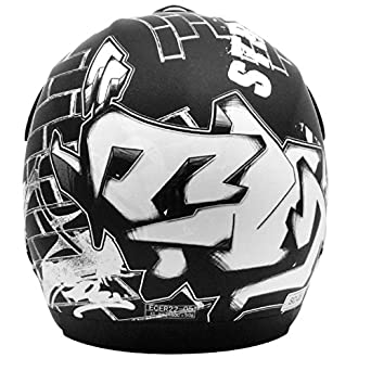 CASQUE CROSS TNT HELMETS STREET SC05 S