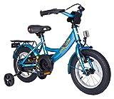 Kinderfahrrad 30.5cm (12 Zoll) Mädchen Kinderrad in Farbe Blau mit Stützrädern/ab 3 Jahren 8 KG Kinderrad Fahrrad Spielrad Rad