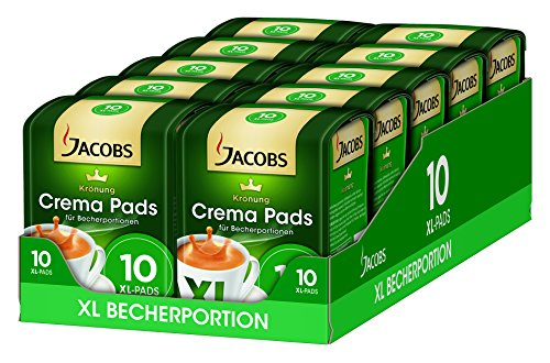 Purchase Jacobs Krönung Crema XL 120 g (Pack of 10 x 120 g, 10 Coffee Pods - Jacobs