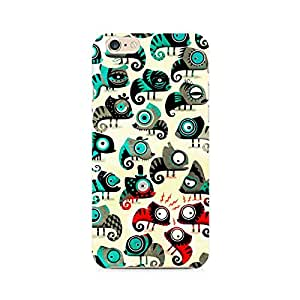 Motivatebox- Colorful Chameleon Premium Printed Case For Apple iPhone 6/6s -Matte Polycarbonate 3D Hard case Mobile Cell Phone Protective BACK CASE COVER. Hard Shockproof Scratch-
