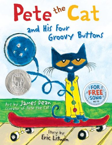 Pete the Cat and His Four Groovy Buttons: James Dean, Eric Litwin: 9780062110589: Amazon.com: Books