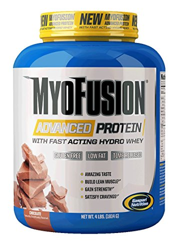 Gaspari Nutrition Myofusion Advanced Protein, Chocolate, 4 Pound