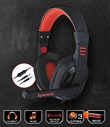 Redragon Garuda H101 Gaming Headphones (Black/Red)