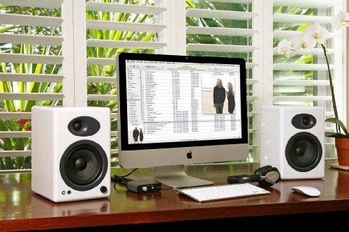 Audioengine A5+ Premium Powered Speaker Pair (White) Black Friday & Cyber Monday 2014