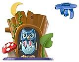 Silverlit Lyle DigiOwl juguete con centelleantes ojos y Troncos Casa