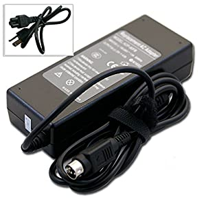 Bestcompu ® 20V 4.5A 90W 4Pin Replacement AC Adapter for Dell 2001FP R0423 ADP-90FB UltraSharp 2100FP LSE0202C2090 Dell 20.1