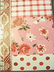 Michaels Mixed Patchwork Bound Journal Red Mixed Patchwork