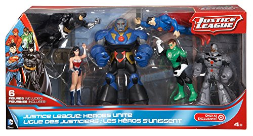 Best Justice League Toys And Action Figures For Kids : Dc comics justice league heroes unite action figure