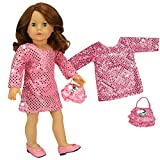 Every occasion is special in this outfit. Perfect for the holidays, birthdays or family visits. The color is flexible and serves through all 4 seasons to be the dressy look your doll will enjoy! Doll and shoes sold separately. © 2013 Sophia's...