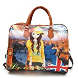#3: Krystle Casual Elegant Digital Printed Exclusive Formal Duffle Handheld Spacious Travel Hobo Bag Hobo Handbag Stylish Handbag (Small Handbag ) Fashionable Girls Handbag
