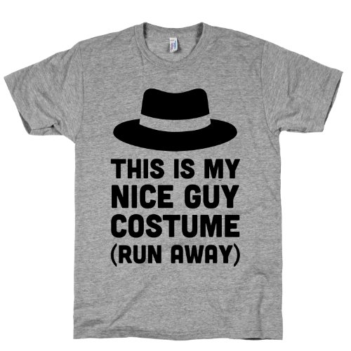 This Is My Nice Guy Costume Crewneck T-Shirt
