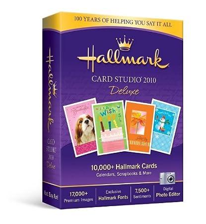Hallmark Card Studio Deluxe 2010