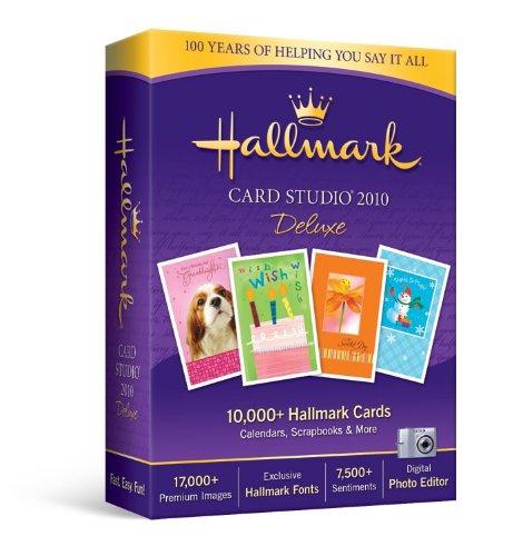Hallmark Card Studio Deluxe 2010 [Old Version]