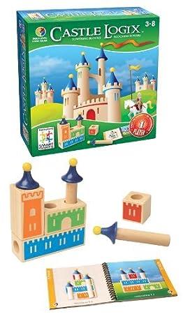 Smart Games - SG 010 - eu  de Reflexion - Castle Logix - 1Er Jeu De Réflexion Et De Logique Amusant