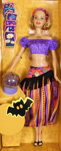 51zf%2BEQcqNL Cheap Price Halloween Fortune Barbie Fortune Teller doll Target Exclusive