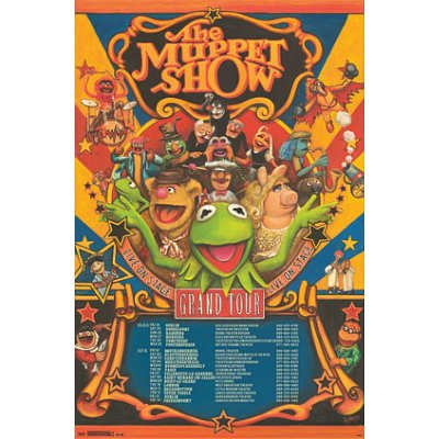(22x34) Muppets Most Wanted - Grand Tour Poster