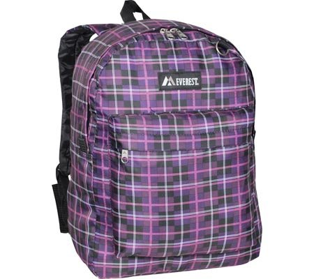 Everest 2045S-BK 13 in. Junior Ripstop Backpack