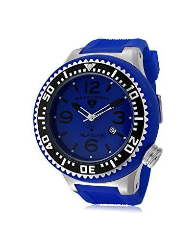 Swiss Legend Men's 21818P-03-BLS Neptune Analog Display Swiss Quartz Blue Watch