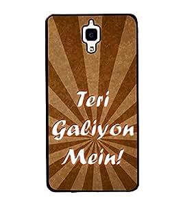 Teri Galiyon Mein 2D Hard Polycarbonate Designer Back Case Cover for Xiaomi Redmi Mi 4 :: Redmi Mi 4