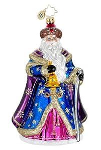 Christopher Radko Glass Father of the Snows Santa Christmas Ornament #1016120