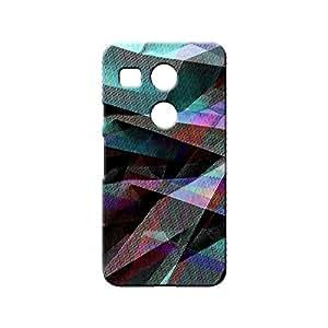 BLUEDIO Designer 3D Printed Back case cover for LG Nexus 5X - G4912