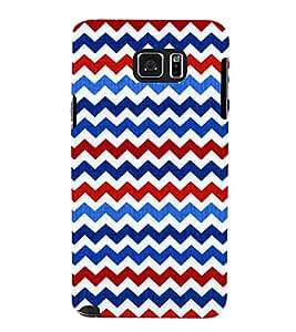 Wave Pattern Wallpaper Cute Fashion 3D Hard Polycarbonate Designer Back Case Cover for Samsung Galaxy Note5 :: Samsung Galaxy Note5 N920G :: Samsung Galaxy Note5 N920T N920A N920I