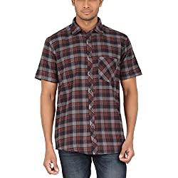 ALLTIMES Men's Brown Color Shirts