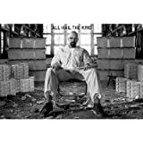 Breaking Bad Poster ~ All Hail The King ~ Walter White in a Room Full of CASH! ~ 24x36""