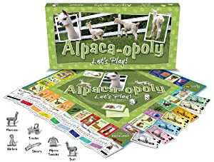 Alpaca-opoly Boardgame