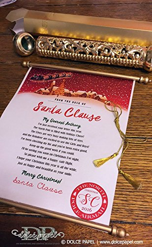 golden-scroll-north-pole-letter-from-santa-clause-size-85x11-with-gold-mailing-tube-north-pole-lette