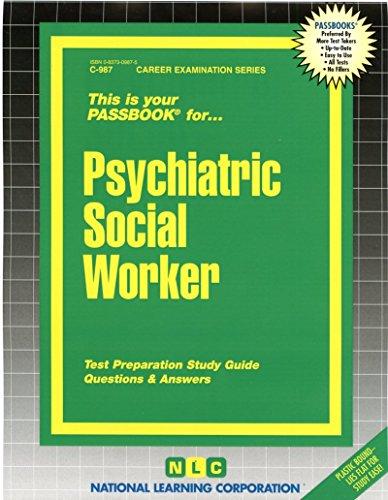 Psychiatric Social Worker(Passbooks)