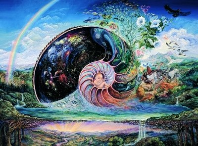 Nautilus Josephine Wall New Baby Greeting Card