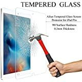 IPad Pro Screen Protector,by Ailun,Premium Tempered Glass,9H Hardness,2.5D Curved Edge,Ultra Transparency,Bubble...