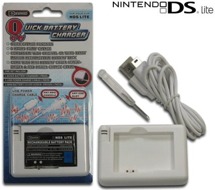 Nintendo DS Lite Portable Rapid Battery Charger SKU: M04099