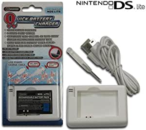 nintendo ds lite portable rapid battery charger sku m04099 video games. Black Bedroom Furniture Sets. Home Design Ideas