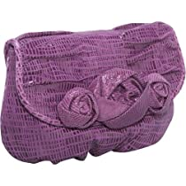 Inge Christopher Christy Convertible Clutch,Violet,one size
