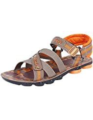 Bersache Men's Grey-908 Sandal & Floaters