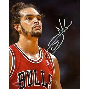 Joakim Noah Chicago Bulls Autographed 8