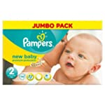 Pampers Baby Paquet de 74 couches Tai...