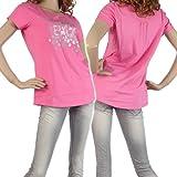 (エンポリオアルマーニ)EMPORIO ARMANI EA7 レディースクルーネックTシャツ 283657 4P138 ピンク [並行輸入商品]