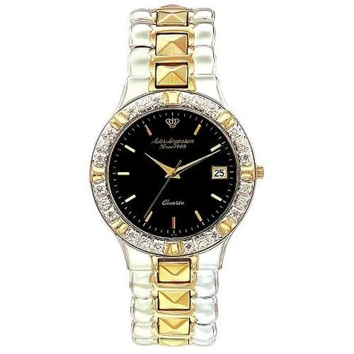 Jules Jurgensen Men's 7890G Elegant Diamond Accented Dress Watch