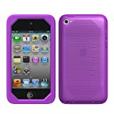 Sumajin INK Silicon Case for iPod touch 4G Purple